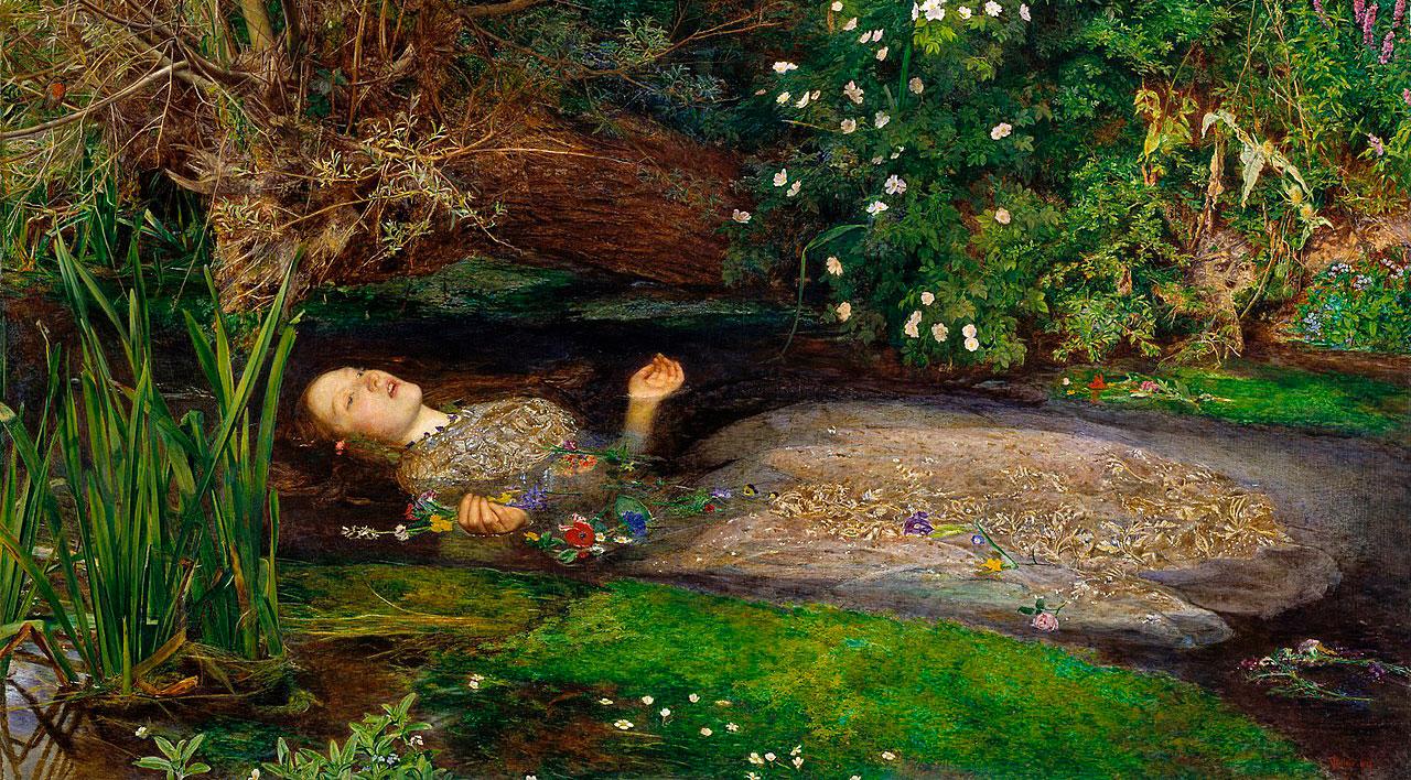 Ophelia, de John Everett Millais