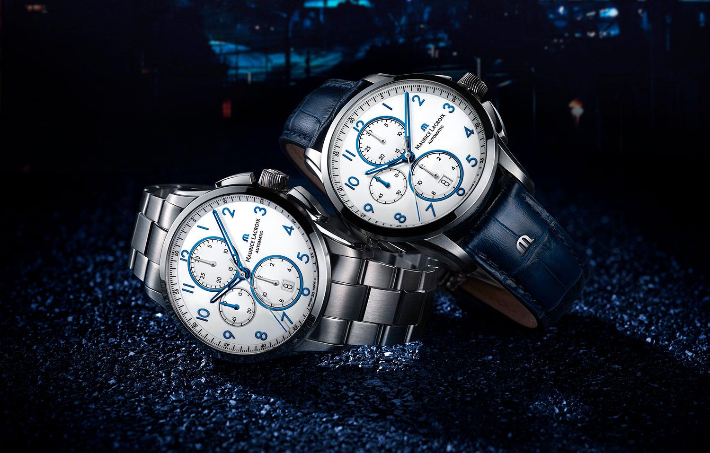 Los nuevos Maurice Lacroix Pontos Chronograph en azul