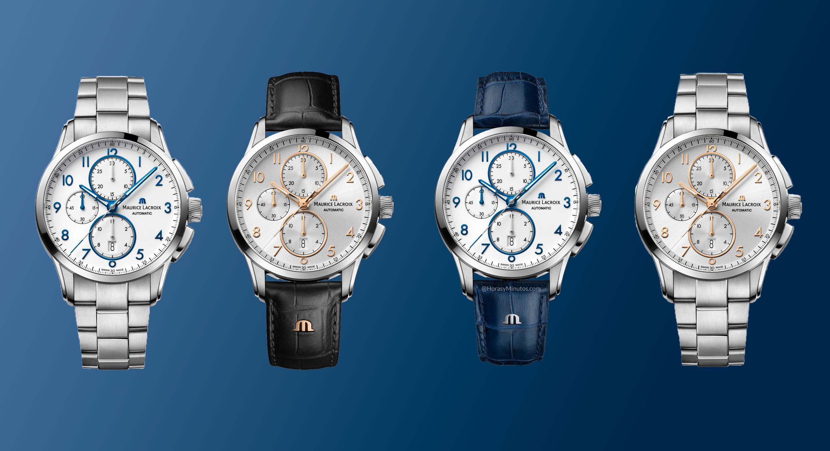 Los tres nuevos Maurice Lacroix Pontos Chronograph