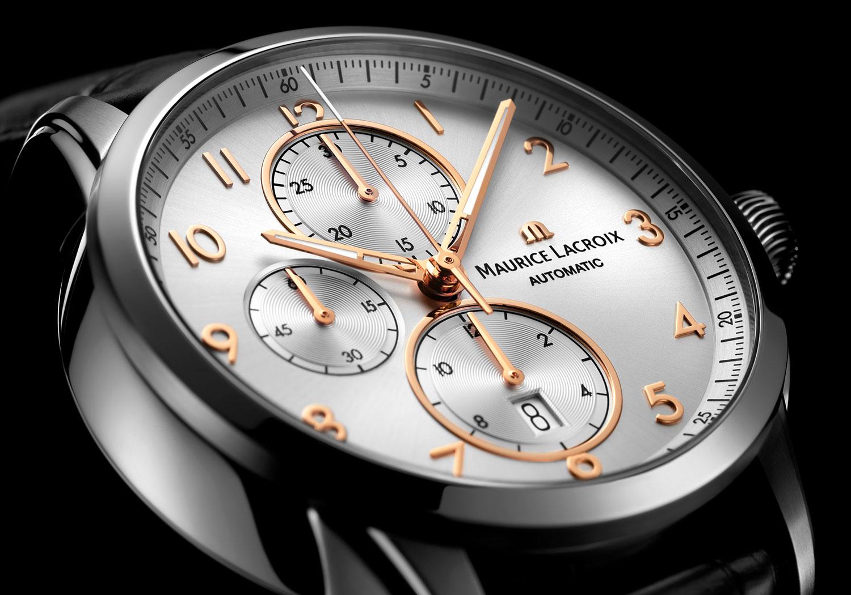 Esfera del Maurice Lacroix Pontos Chronograph