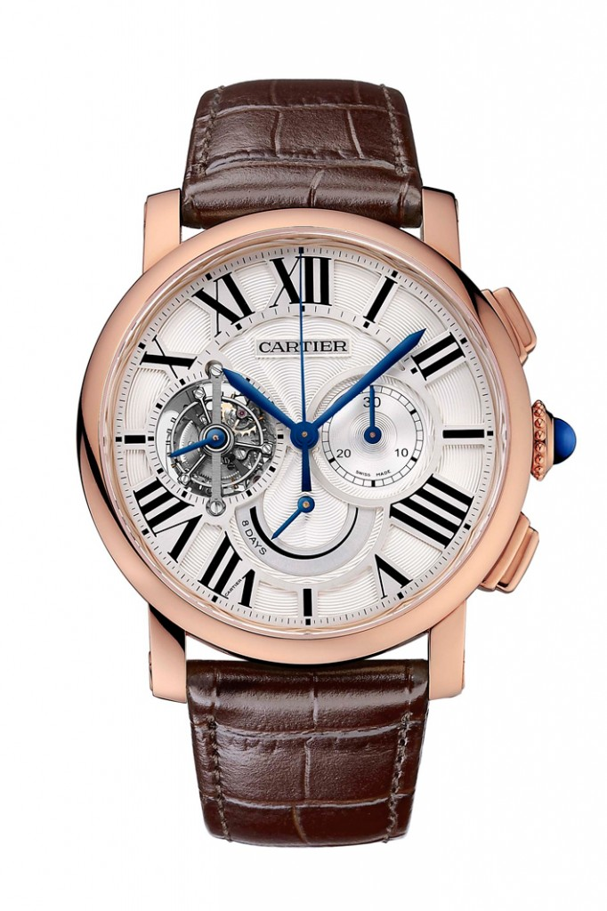 Cartier Rotonde Chronograph Tourbillon
