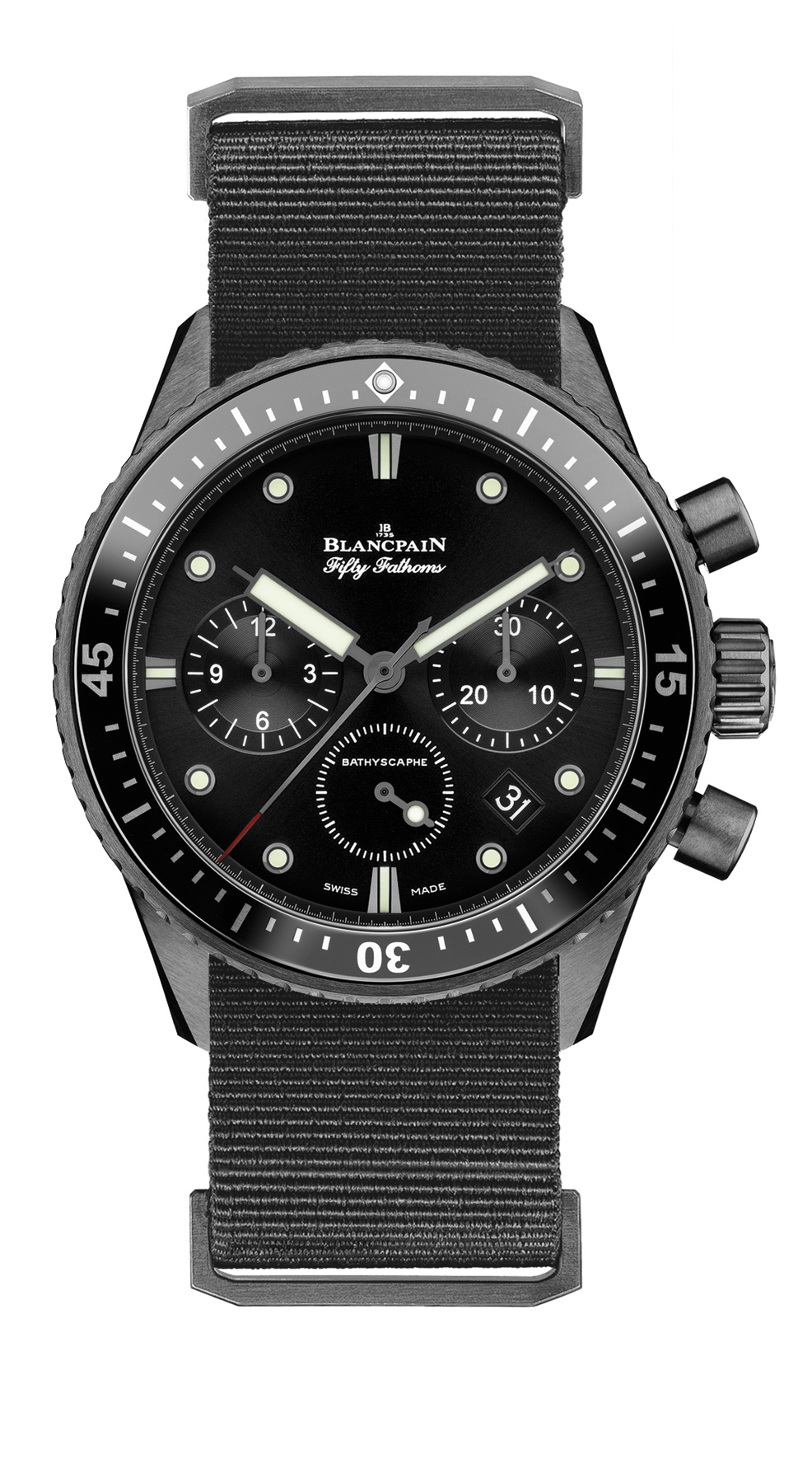 Fifty Fathoms Bathyscaphe Chronographe Flyback