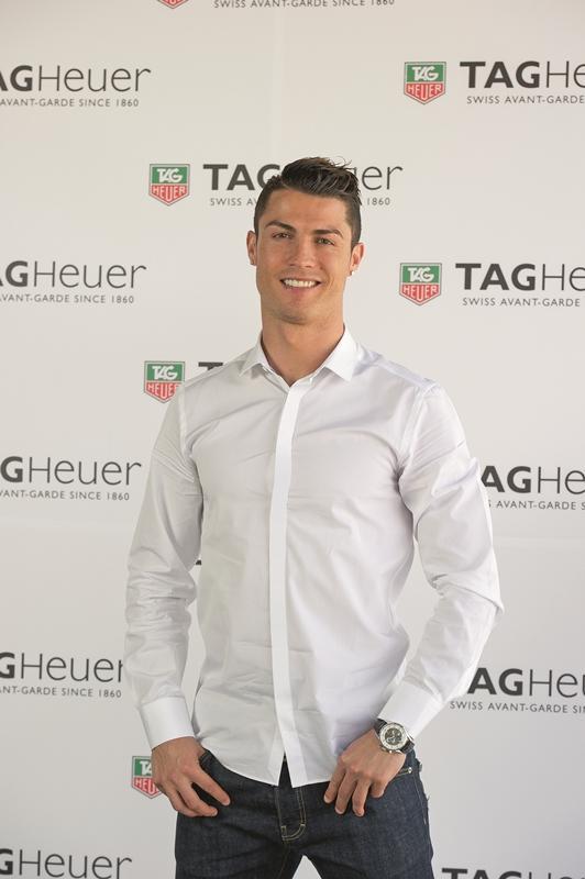Cristiano Ronaldo y TAG Heuer