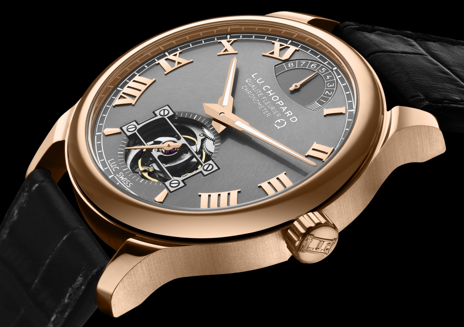 L.U.C Tourbillon QF Fairmined perfil