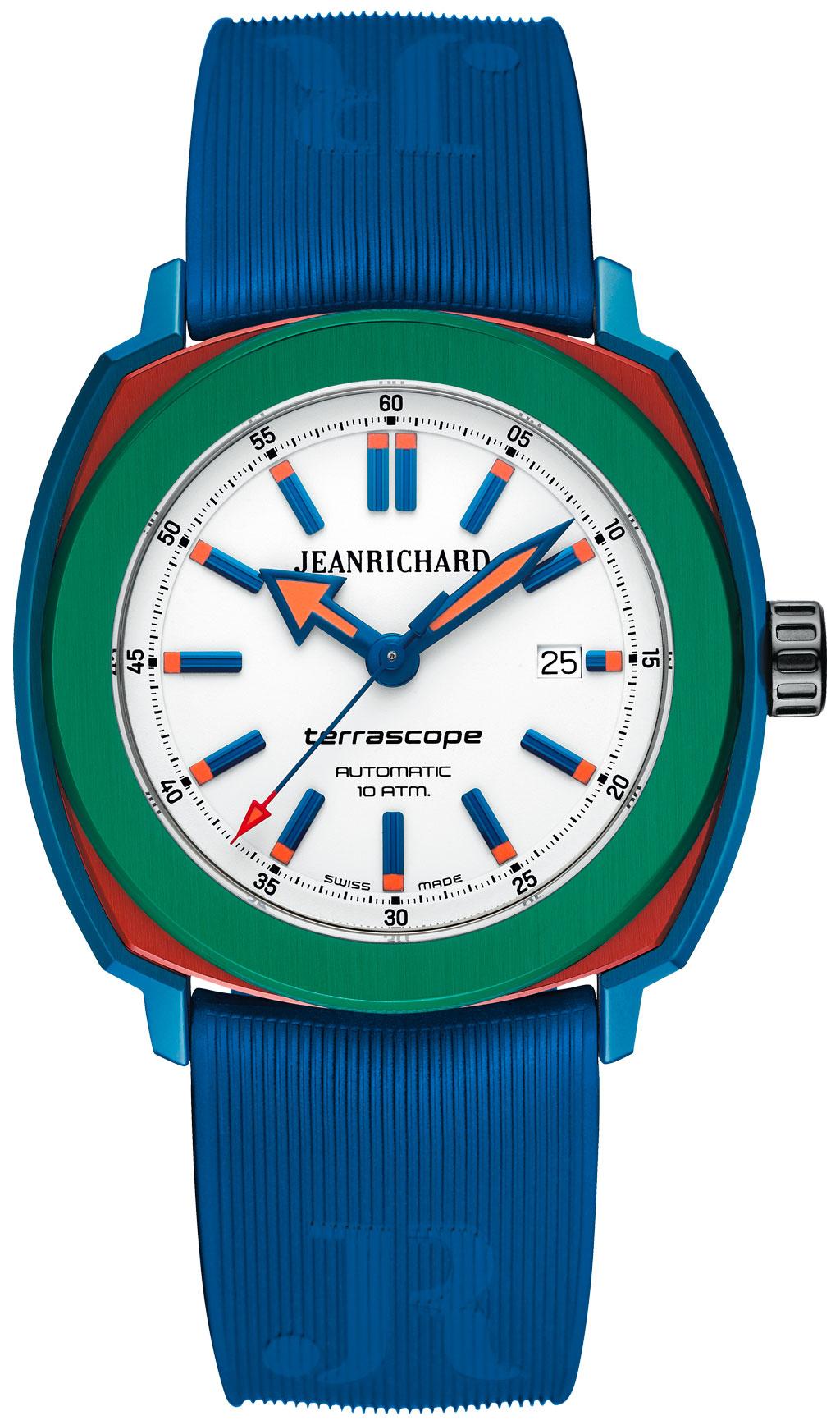 JeanRichard Terrascope azul rojo y verde