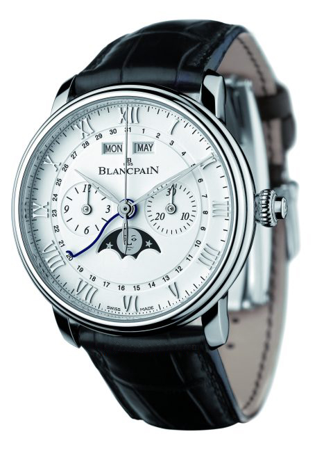 Blancpain Villeret Cronógrafo Monopulsador acero