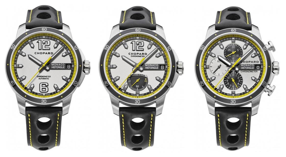 Chopard - Grand Prix de Monaco Historique - Los tres modelos