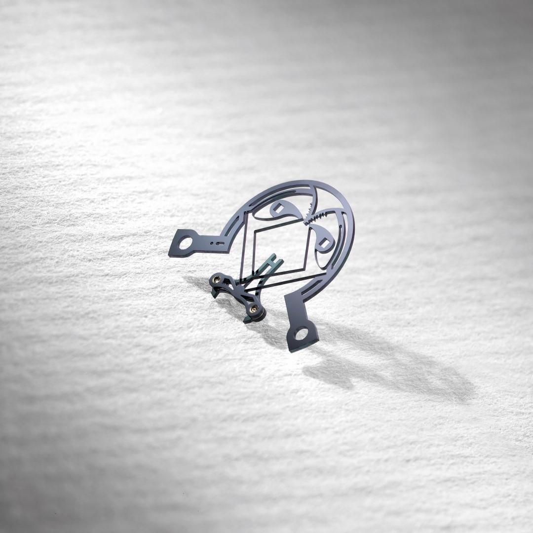Ulysse Anchor Escapement con áncora sin eje