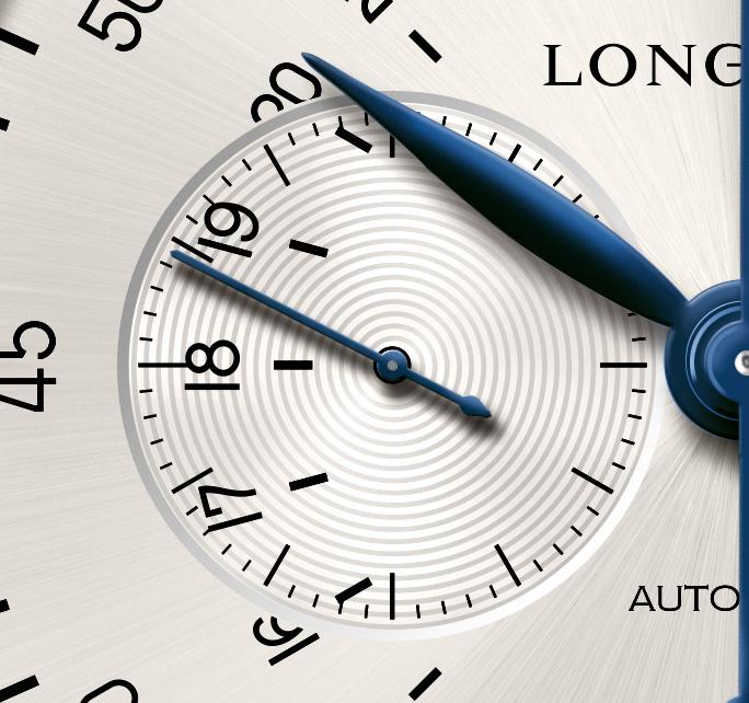 Longines 24 hours single push piece chronograph - pequeño segundero