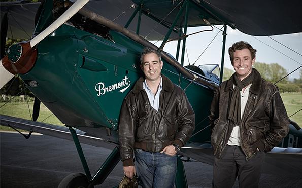 Nick and Giles English