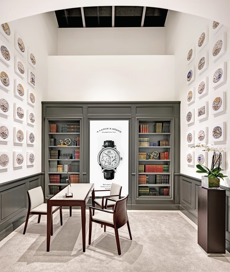 A. Lange and Sohne boutique de Nueva York