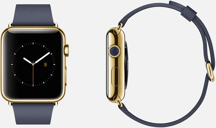Apple watch edition blue classic
