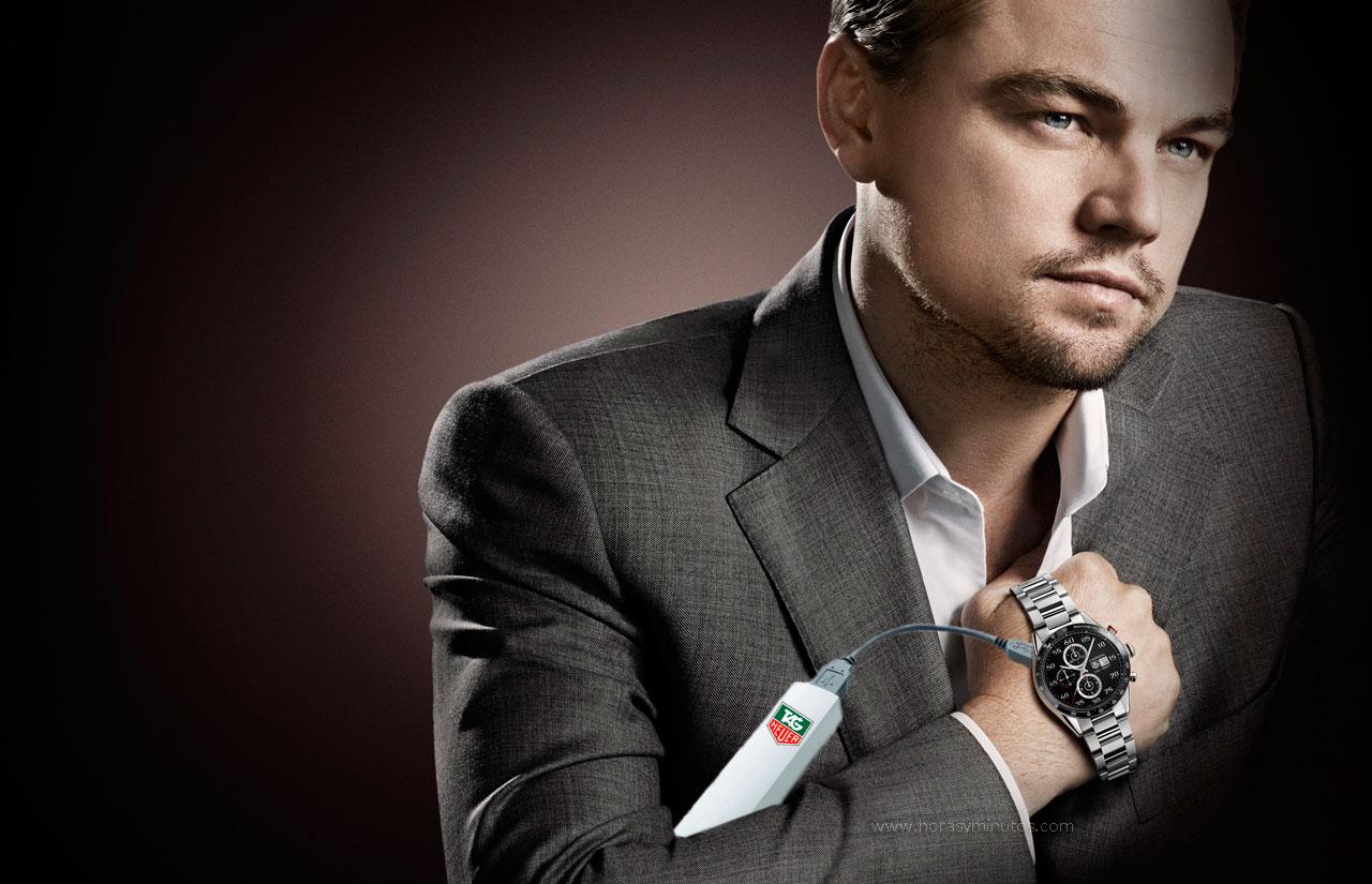 Leonardo Dicaprio TAG heuer  Smart Carrera