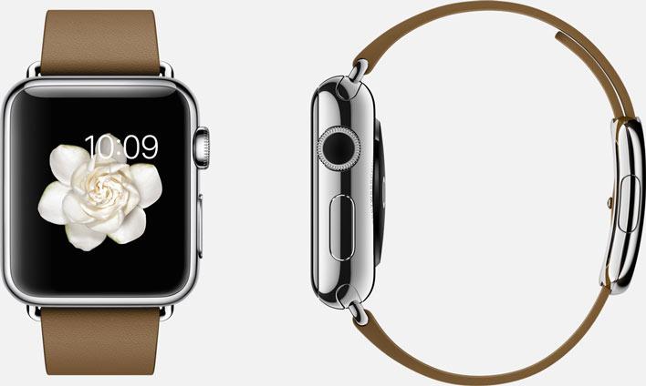 Apple Watch correa marrón