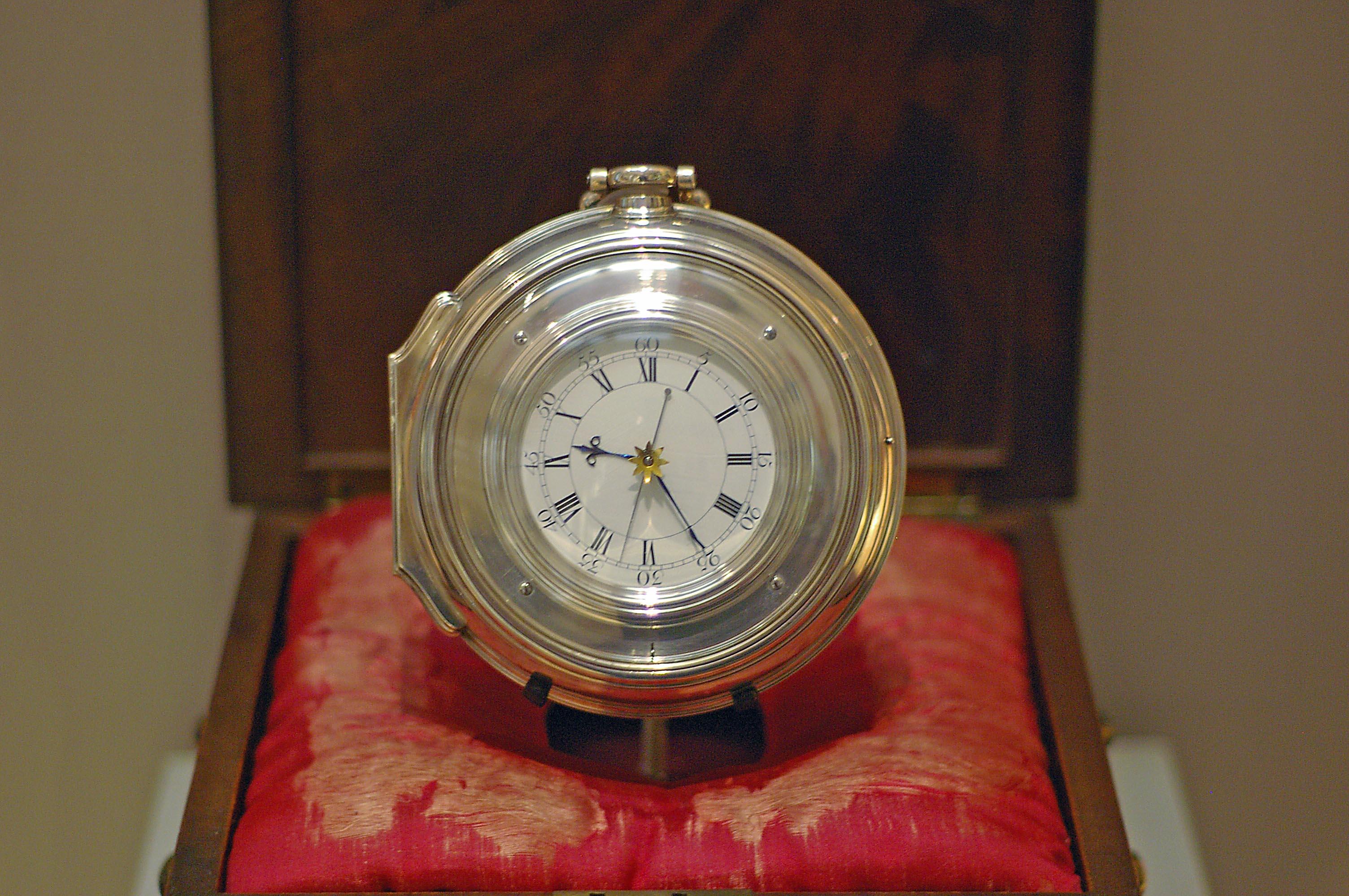 H5, el cronómetro de John Harrison