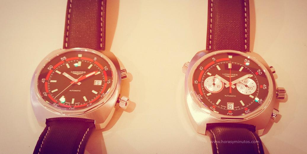 Longines Heritage Diver y Diver Chronograph