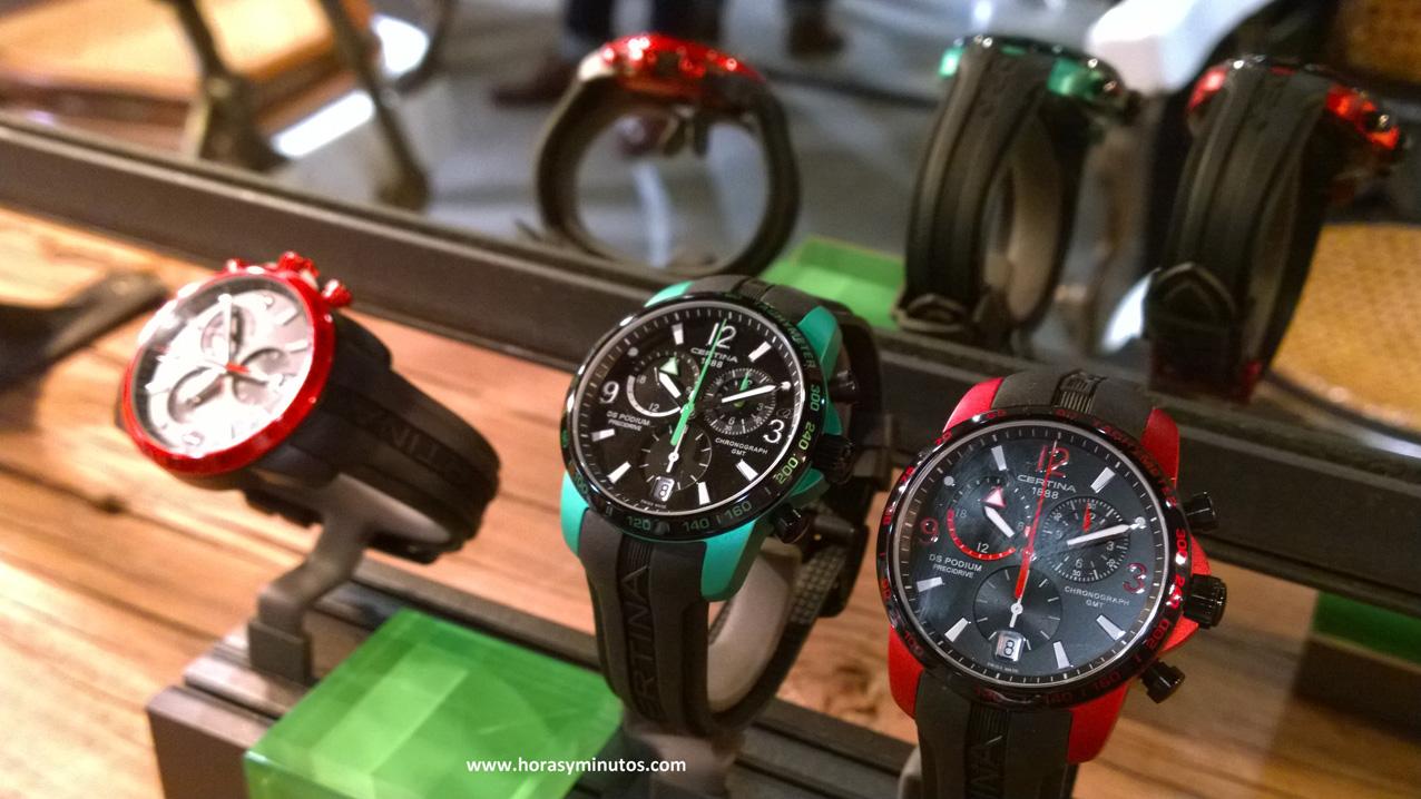 Los tres modelos de hombre del DS Podium GMT Chronograph Aluminio