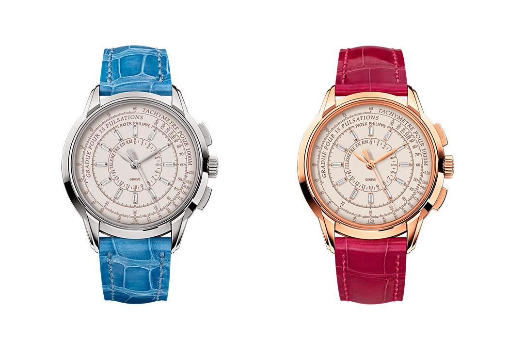 Multi Scale Chronograph oro blanco y oro rosa mujer