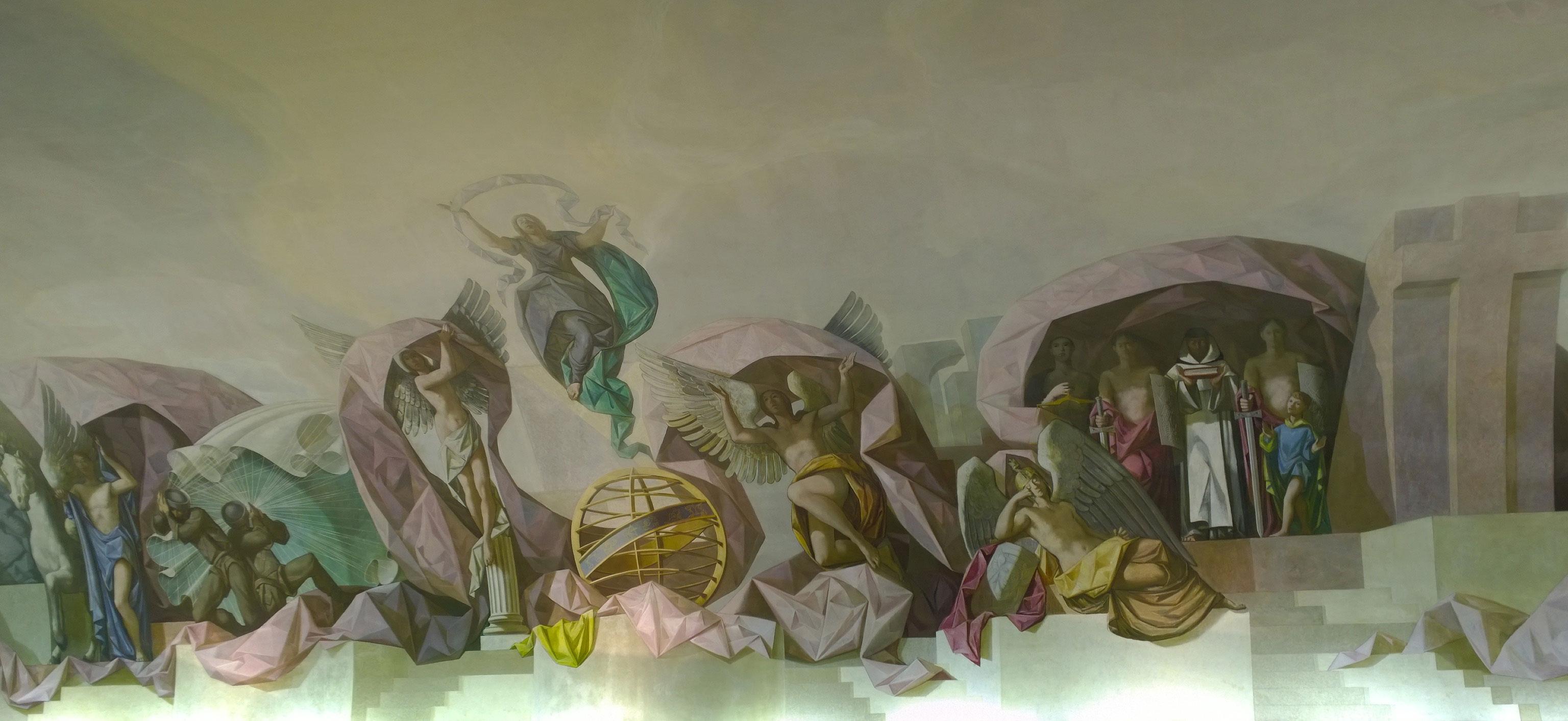 Pinturas en el Salón de Honor del Ejército del Aire
