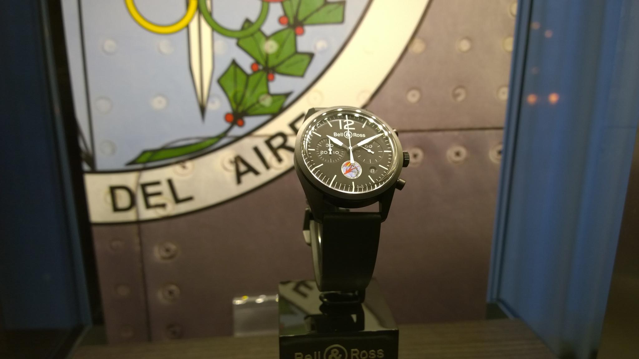 Presentación del Bell & Ross BR126 Vintage Papea