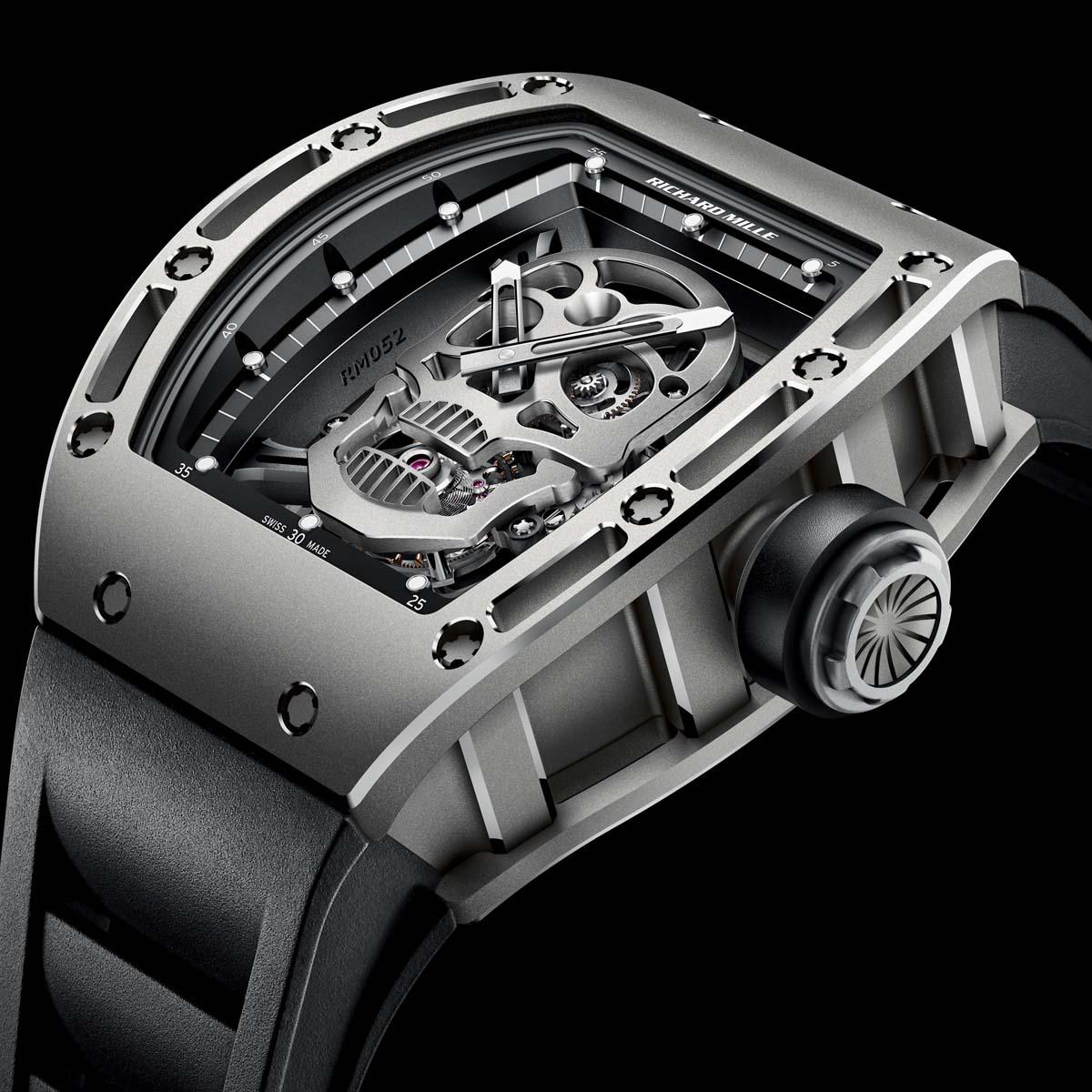 Richard Mille Tourbillon RM 052 Skull Watch