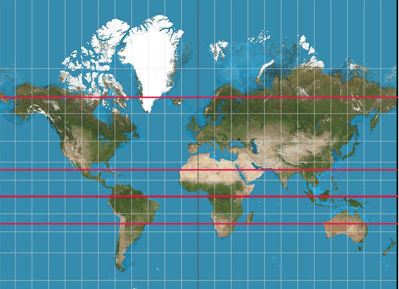 longitud y latitud