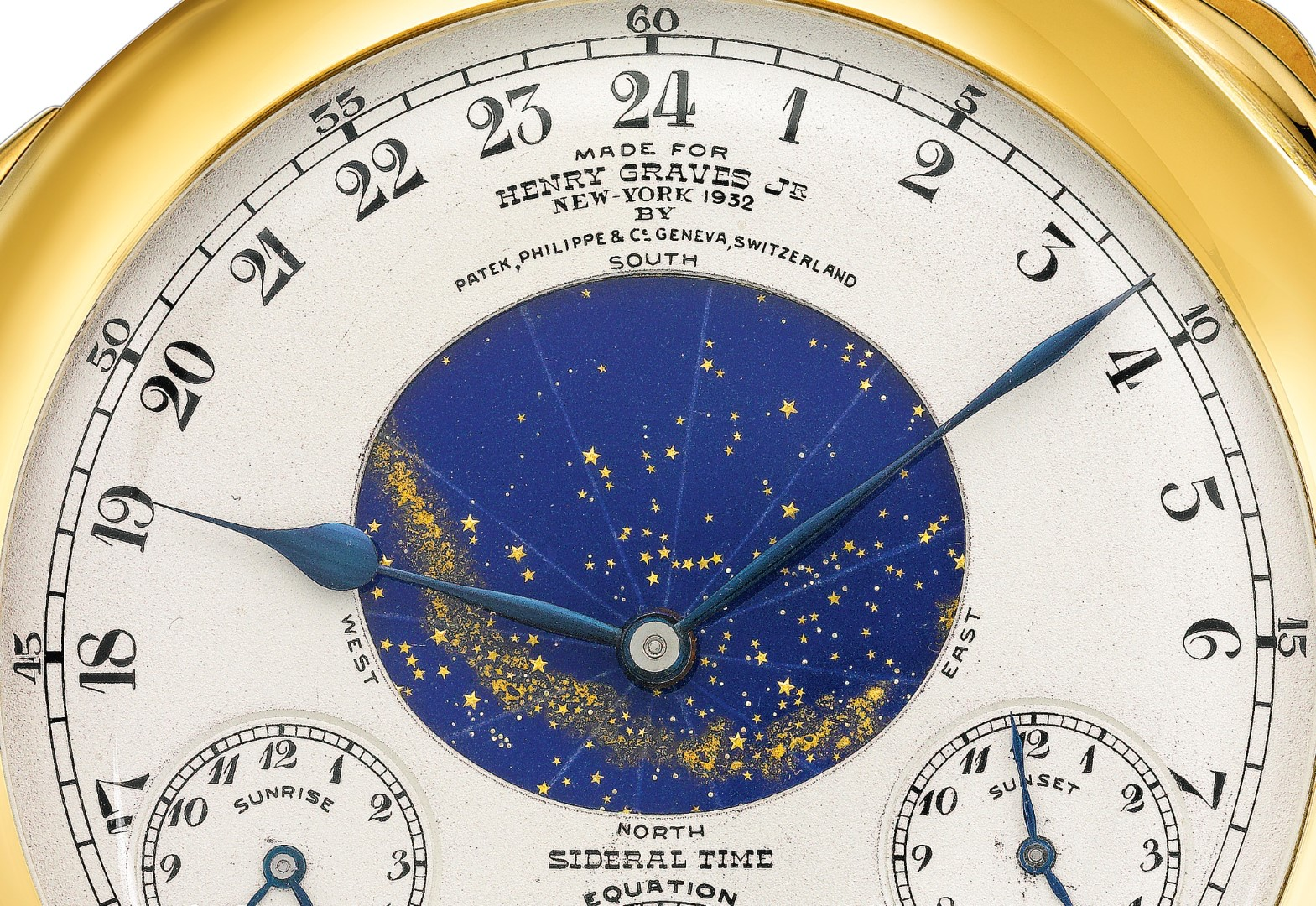 Henry Graves Supercomplication detalle