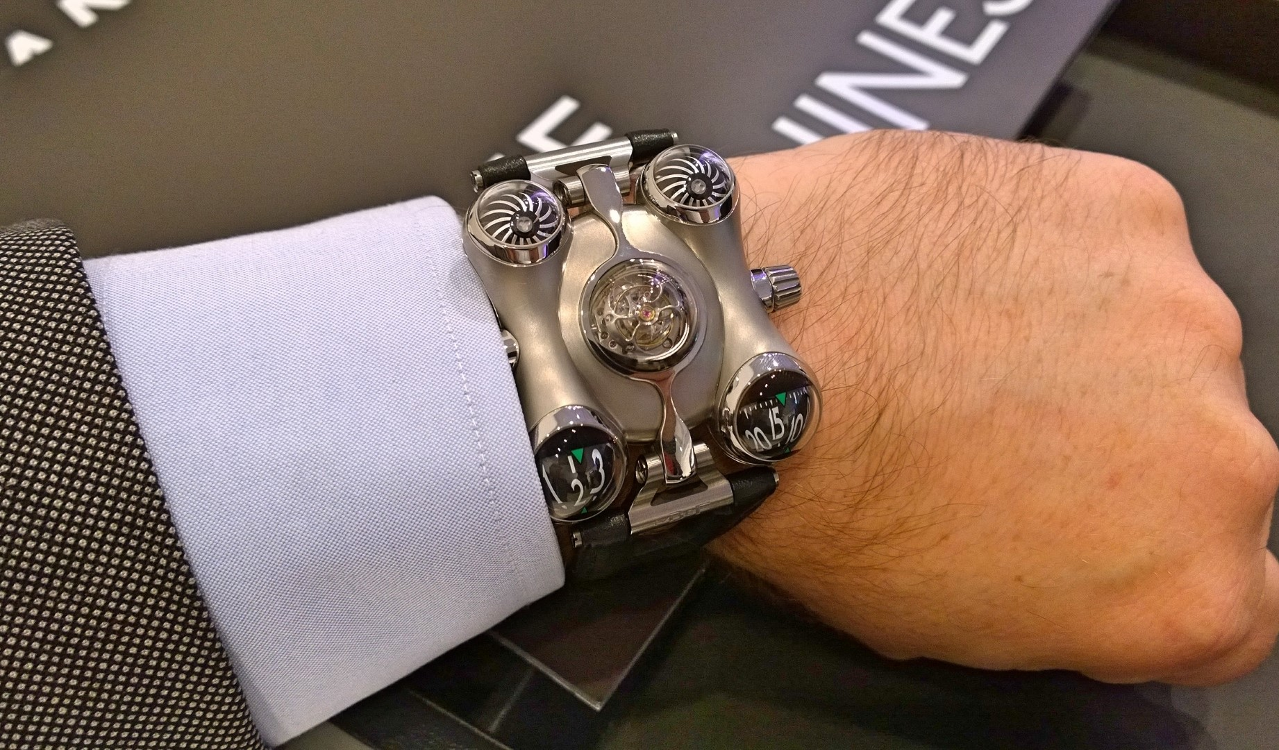 MB&F Space Pirate
