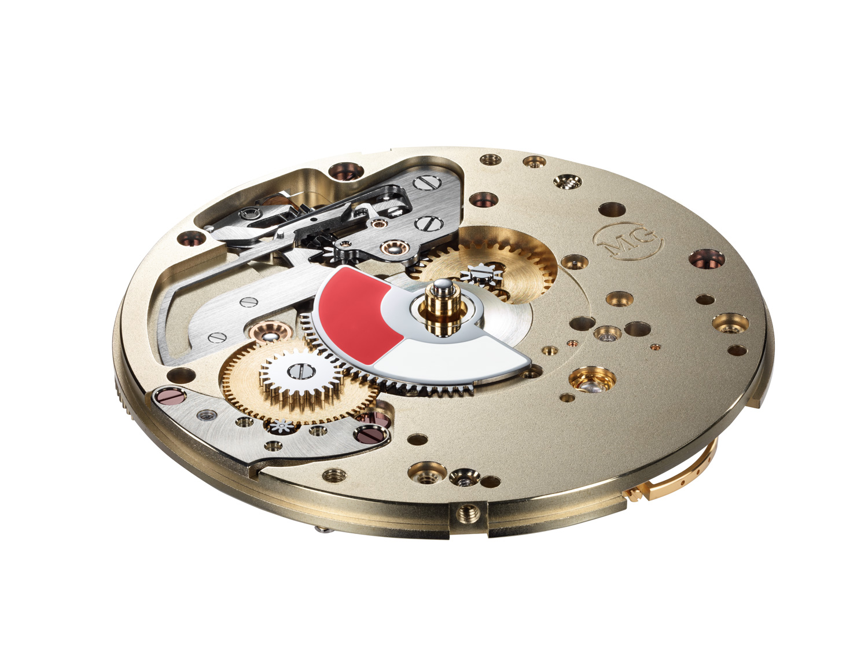 Moritz Grossmann Benu Power Reserve calibre 100.2 con indicador de reserva de marcha