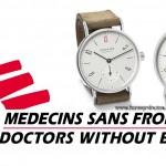 Nomos lanza un nuevo reloj para Médicos sin Fronteras