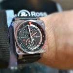 Presentación de la moto y los relojes B-Rocket de Bell & Ross