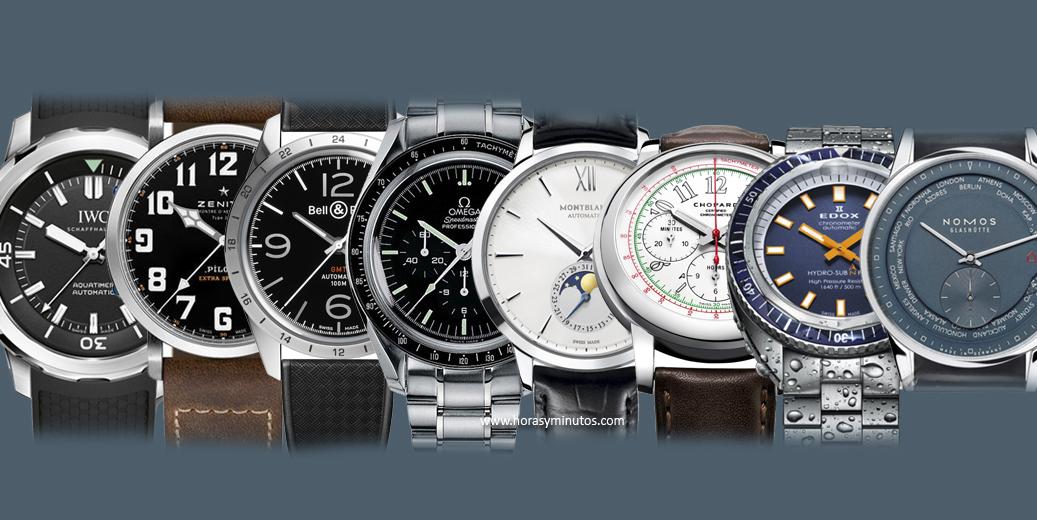 10 relojes por menos de 5000 euros