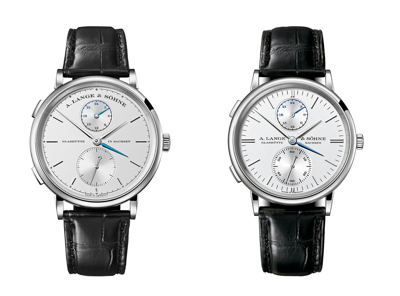 A. Lange & Söhne Saxonia Dual Time entonces y ahora