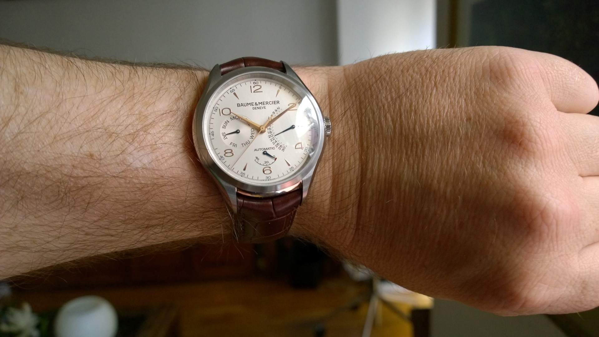 Baume & Mercier Clifton Retrograde