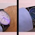 En la muñeca: NOMOS Tangomat GMT y Zurich Worldtimer