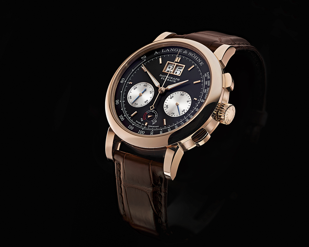 A. Lange & Sohne Datograph Up Down perfil