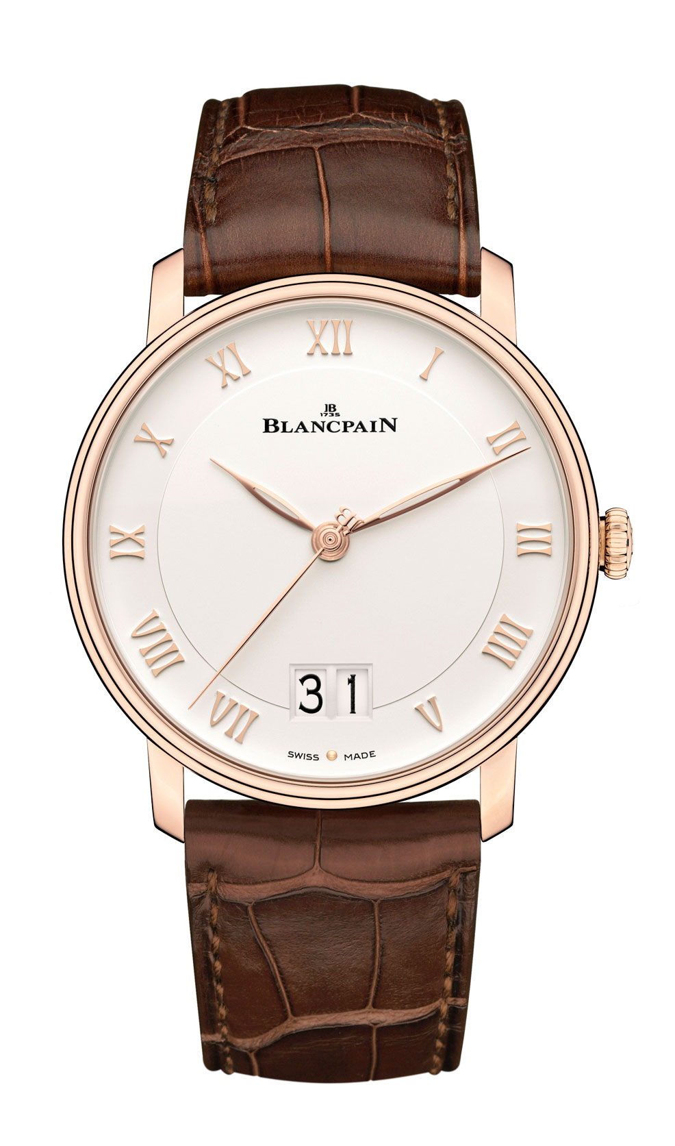 Blancpain Villeret Grand Date frontal