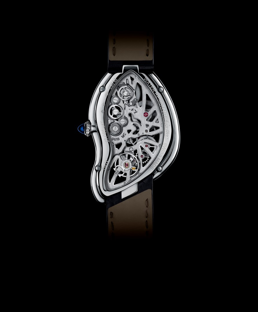Cartier Crash Skeleton reverso