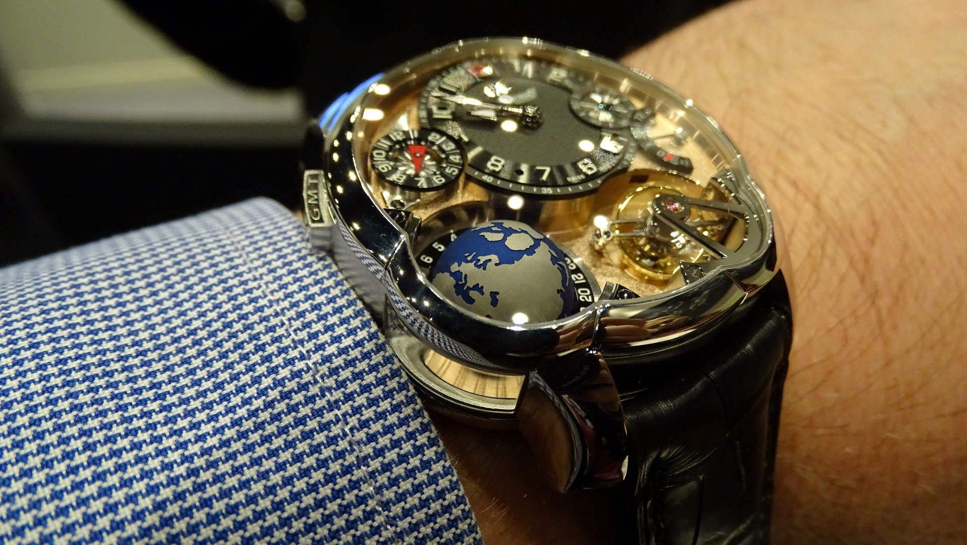 Greubel Forsey GMT 5N Movement - detalle