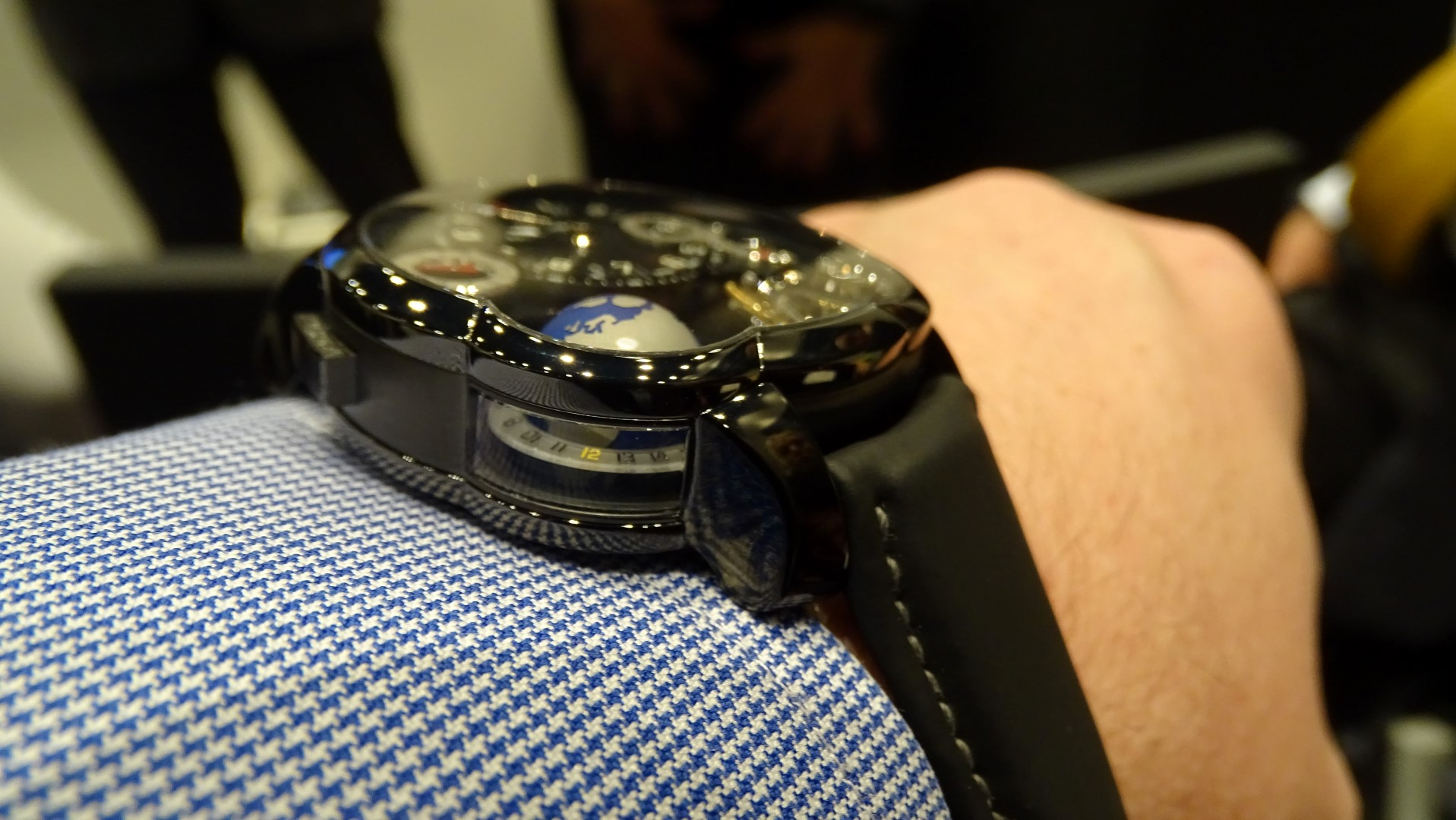 Greubel Forsey GMT Black perfil