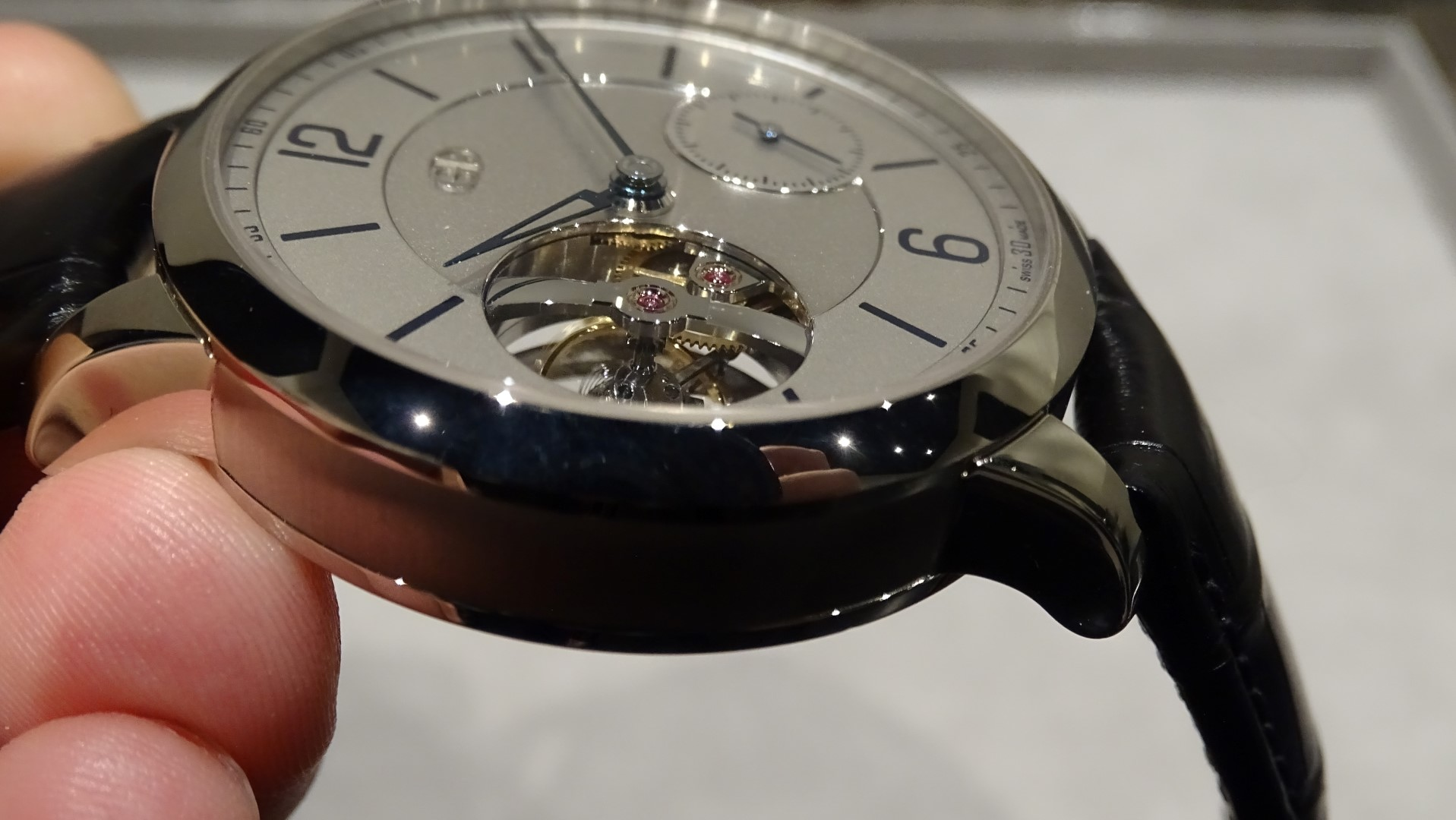 Greubel Forsey Tourbillon 24 Seconds Vision detalle del tourbillon