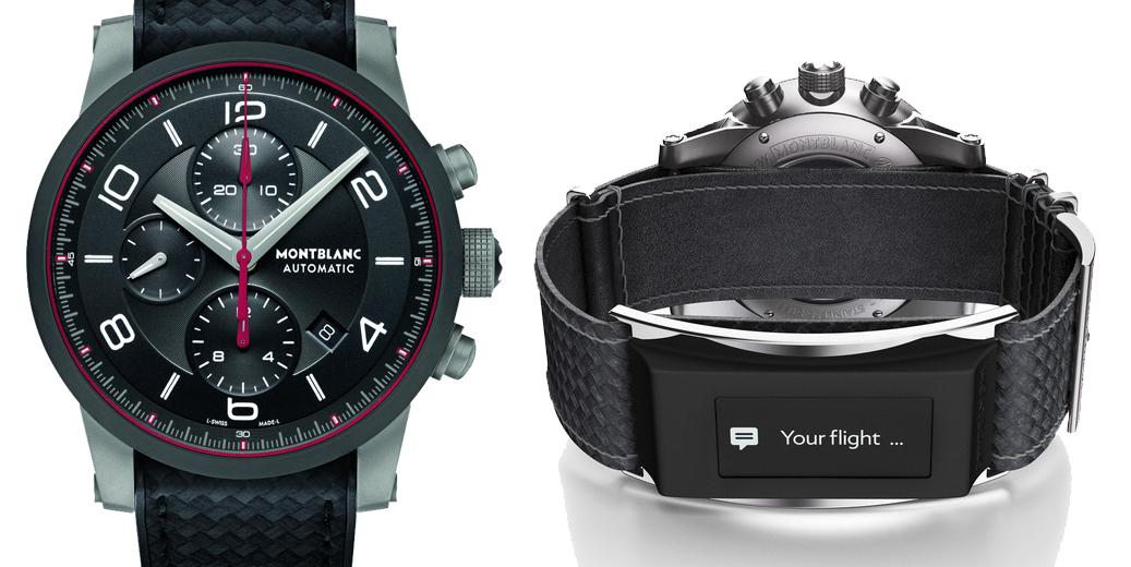 Montblanc TimeWalker Urban Speed Cronograph con e-strap1