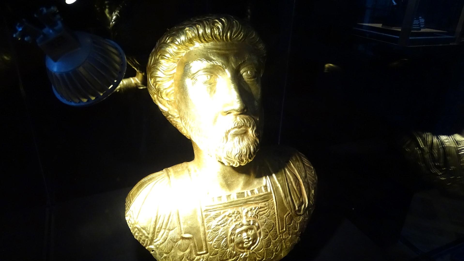 Reproducción del busto de Marco Aurelio