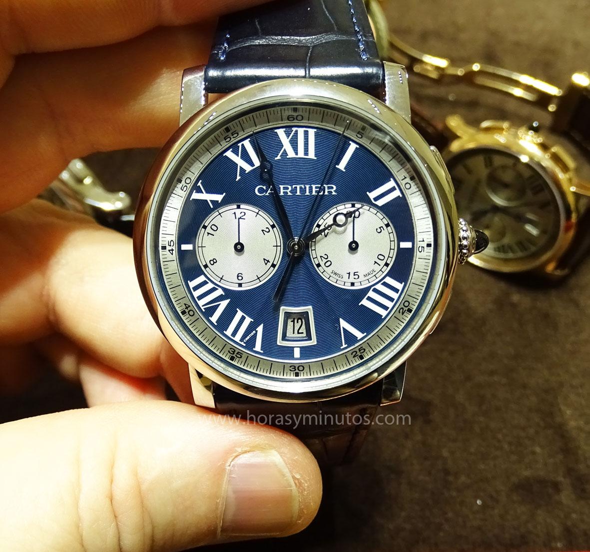 Rotonde de Cartier Chronograph edición boutique