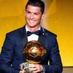 El reloj de Cristiano Ronaldo en la gala del balón de oro