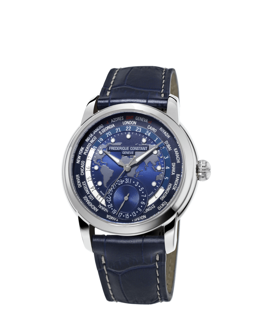 Frederique Constant World Timer Manufacture frontal