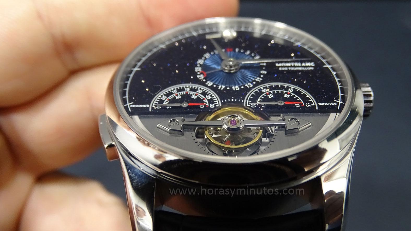 Heritage Chronométrie ExoTourbillon Minute Chronograph Vasco da Gama Limited Edition - Detalle del Tourbillon