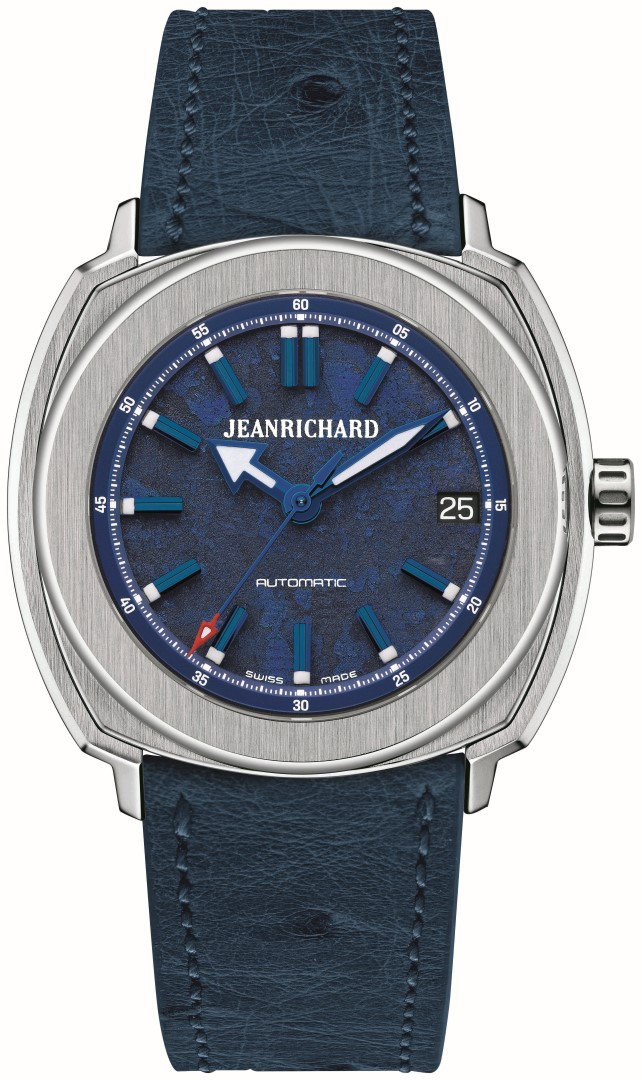 JEANRICHARD 39 mm azul