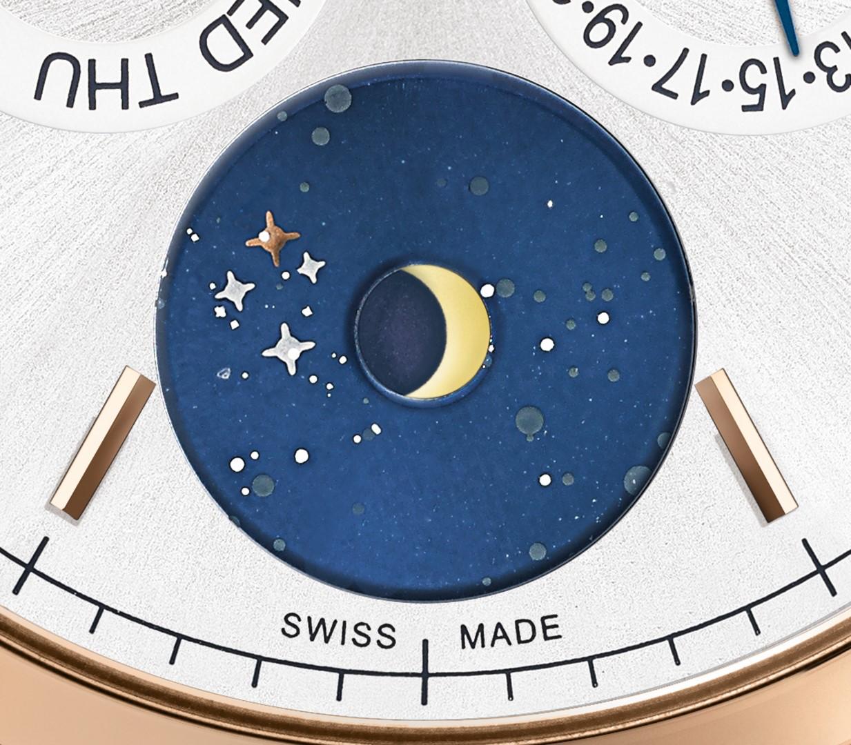 Montblanc Heritage Chronométrie Heritage Quantième Annuel Vasco da Gama - fases lunares