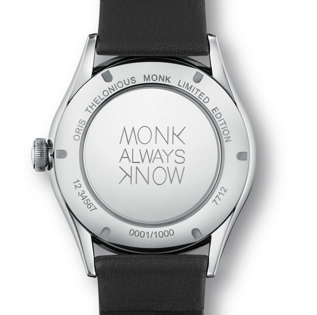 Oris Thelonious Monk Limited Edition - grabado